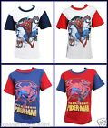 Boys Spiderman Marvel T-Shirt Top Gift