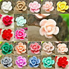 Brandnew 14x13mm flatback vintage style cameo flower resin Cabochons wholesale