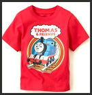 NWT THOMAS & FRIENDS TRAIN BOYS TEES LOGO Graphic TOP T-shirt 6/9M 9-12M 12-18M