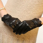 Women's luxury leather gloves gift for mother's Christmas thanksgiving day