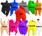 Choose Adult Chub Suit Inflatable Blow Up Color Full Body Costume Jumpsuit