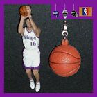 NBA SACRAMENTO KINGS STOJAKOVIC FIGURE & LOGO OR BASKETBALL CEILING FAN PULLS on eBay