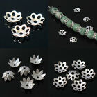 6mm/8mm/10mm Silver Plated Metal Flower Beads Caps Great for DIY Jewelry Making