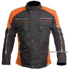 Mens  Motorcycle  Racing Waterproof Cordura Removable  Armor  Jackets Size S-L