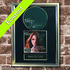 MILEY CYRUS The time of our lives FRAMED AUTOGRAPH CD Reproduction Print A4 Size