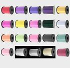 Full roll of 5mm width 500m long curling ribbon various colours inc foil silver