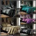 5Pc Duvet Cover+2 Pillow Cases +1 Bed Spread &1 Filled Cushion Bedding Set Top Q