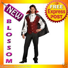 C290FB Fang Bangin' Fun Gothic Vampire Halloween Adult Costume