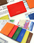 Flat Card Case Credit Business ID Traffic Money Clip Holder Pocket Slim Wallet