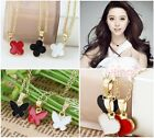 1 Pc 9 Styles Gold Plated Fashion Lovely Mix Colors Necklace
