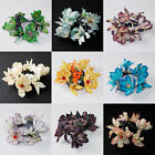 Latex Flower Candle Ring wedding baby shower birthday party decoration 12pcs