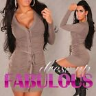 NEW SEXY WOMEN'S JUMPER JACKET SIZE 8-10 S/M CARDIGAN SWEATER DRESS BLACK WHITE