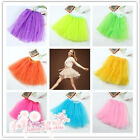 1 Pc 11 Colors 3 Layer TUTU BALLET SKIRTS BIG GIRLS . TEENS . ADULTS Waist