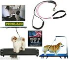 NO SIT RESTRAINT SYSTEM Dog Pet Grooming Arm HEAVY DUTY Cable Loop Haunch Holder