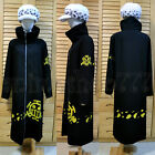 One Piece Trafalgar Law Coat Hat 2 years later Cosplay Costume Free Shipping