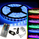1m-10m LED RGB SMD5050 30/60 LEDs Streifen Strip Band Leiste+Controller+Trafo