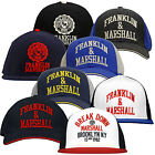 Franklin & Marshall Embroidered Logo Unisex Baseball Caps