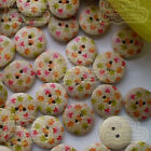 15mm Wood Buttons Sewing Scarpbooking Craft SW004