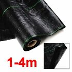 Heavy Duty Weed Control Woven Fabric Ground Cover Mulch Membrane Mat 100gsm NEW