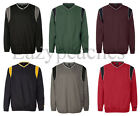 Rawlings Mens S-XL, 2XL 3XL V Neck Pullover Windshirt Baseball Golf Soccer Sport
