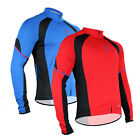 New Men's Long Sleeve Cycling Jersey Bike Bicycle Outdoor Shirts Size M-2XL 1012