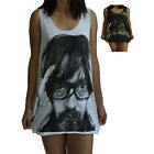 **Unisex Jarvis Cocker Vest** Tank Top Singlet T-Shirt Dress **Sizes S M L XL**