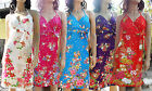 New chic women summer beach formal halter nice bust flower print dress CN-105