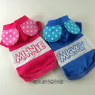 Dog&Cat Clothes Coats Mickey&Minnie Mouse Costume_C307