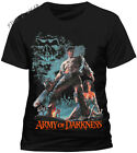 Army Of Darkness Smoking Chainsaw Official Mens T Shirt Black  S M L XL  XXL