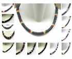 "Coconut Chokers - Elastic - tough - Rastafari - Surfer - Cool  16 "" Flexible"