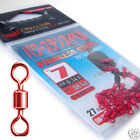 Challion Japanese POWER Stainless steel Fishing Swivel connector RED corefishing