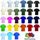10 x Fruit of the Loom T-Shirt Gr. S M L XL XXL sofort verfügbar!!! TOP !!!