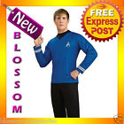 C676 Star Trek Movie (2009) - Blue Shirt Officer Spock. Deluxe Adult Costume on eBay