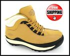 LADIES SAFETY WORK HIKING LEATHER TRAINERS BOOTS WOMENS STEEL TOE CAP SIZE 3-8