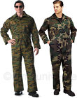 Camouflage Military Jumpsuit Unlined Coverall