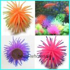 2x Aquarium Fish Tank Decor Soft Artificial Coral Underwater Decoration Ornament