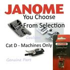 Janome Sewing Machine Feet Foot You Pick- Cat D 9mm MC12000, MC8900QCP, MC8200QC
