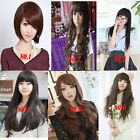 2016 New Style Womens Girls Sexy Long Fashion Full Hair Wig Wavy Curly Cosplay