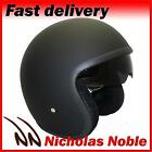 VIPER RS-V06 OPEN FACE JET TOURER MOTORCYCLE MOTORBIKE HELMET MATT BLACK