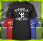 TONY MONTANA ENTERPRISES SCARFACE DRUG MOBSTER PACINO GANGSTER MOVIE T-SHIRT TEE