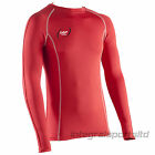 Base Layer Top Cotton Traders Unisex Long Sleeve Compression Fit Top Size Small
