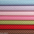 """By The Yard 100% Cotton Fabric Small Polka Dot Sewing Craft 44""""x36"""" K c-216"""
