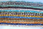 """variations color 1 2 strand 17"""" 8-9mm baroque freshwater pearl beads necklace"""
