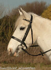 Heritage Finest English Leather Plain Hunter Bridle - All Sizes - Black Or Brown