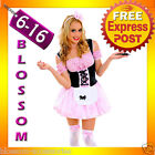 J66 Ladies Little Miss Muffet Storybook Fairy Tale Fancy Dress Halloween Costume