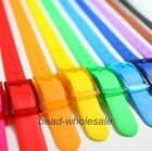 1 Pc Rubber Vinyl Plastic Jelly Silicone Casual Belt Buckle Adjustable,15 Colors