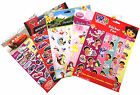 New Disney Cars Princess Sticker Fun Five Sheet of Reusable Stickers Ages 3+