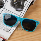 Fashion f. Unisex Vintage Retro Trendy Cool Outdoors Sunglasses PC Frame AC Lens