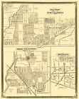 INDIANAPOLIS INDIANA (IN) LANDOWNER MAP 1876