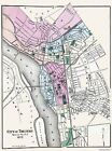 Historic City Maps - TRENTON & MERCER COUNTY NEW JERSEY (NJ) MAP 1872